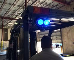 blue warning lights on forklifts cisco eagle catalog forklift approach warning light led red