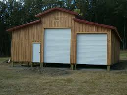 Pole Barn Roofing Wood Siding Parker Buildings Inc