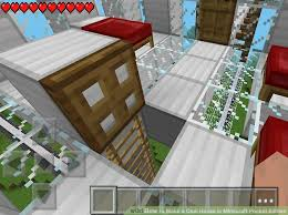 How To Make Building Plans For Minecraft by How To Make A Cool House In Minecraft Pocket Edition