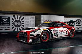 nissan race car adv 1 partners with always evolving gt r race team to develop new