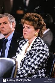 Senators Wife Virginia Thomas Wife Of Judge Clarence Thomas Sheds A Tear As