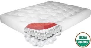 natural organic cotton soy memory foam futon mattress