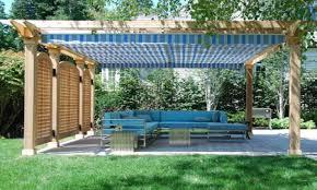 Pergola Shade Ideas by Roof Terrace Ideas Diy Retractable Pergola Shade Canopy
