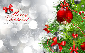 merry and happy new year silver background gallery