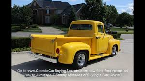 Classic Ford Truck Seats - 1956 ford f 100 pickup classic muscle car for sale in mi vangaurd