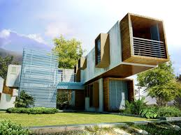 fresh container house architecture 727
