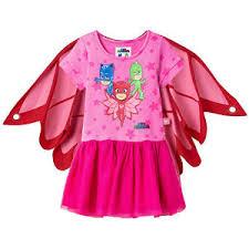 pj masks owlette children cape u0026 dress wings girls cosplay party