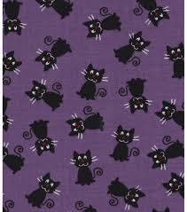 halloween fabric tablecloth halloween black cats cotton fabric 43 u0027 joann