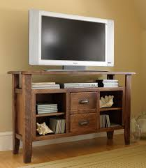 furniture rustic tv entertainment center with rustic