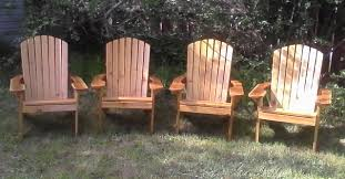 Cedar Adirondack Chairs Adirondack Chairs Footstools And Garden Dining Chairs