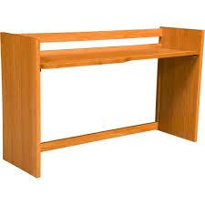 university loft graduate series pedestal desk wild cherry finish