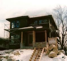 modern prairie house plans prairie style cottage house plans designed for a narrow lot