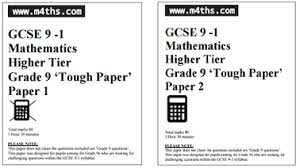 grade 9 gcse www m4ths com gcse u0026 a level maths