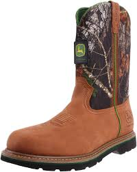 s deere boots sale amazon com deere s 11 mossy oak camo boot shoes