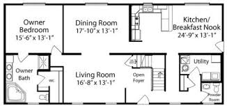 Charleston By All American Homes Two Story Floorplan American Floor Plans And House Designs