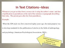 apa format online article no author best ideas of in text citation apa website exle no author with