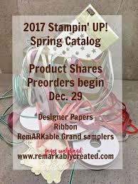 designer ribbon 2017 stin up catalog product shares designer paper