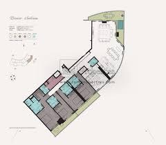 floor plans kempinski residences business bay dubai