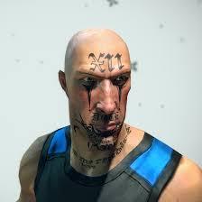 image el salvadorean face tattoo jpg brink wiki fandom