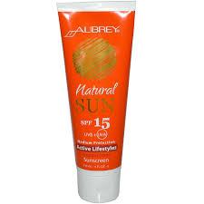 Natural Scent Aubrey Organics Natural Sun Active Lifestyles Tropical Scent