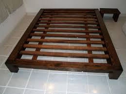 Low To The Ground Bed Frame Bed Frames Frame Low To Ground Modern Size Bedframe