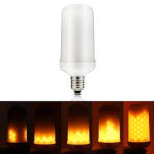 light bulbs that flicker like candles led burning light flicker flame light bulb fire effect bulb led