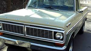 Old Ford Truck Bumpers - 1970 ford f100 youtube