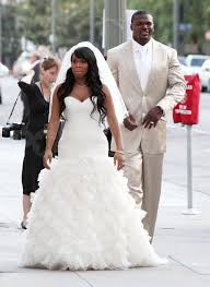 bush wedding dress pictures of and ex reggie bush at a wedding