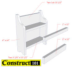 Jack And Jill Chair Plans by Diy Spice Rack Free Plans Pdf Download Construct101