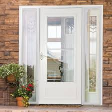 Curb Appeal Front Entrance - the innovative screen away retractable screen hides in the top