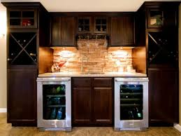 refrigerator for small spaces corner wet bars in basement