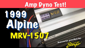 v12 tested on the dyno 1999 alpine mrv 1507 youtube