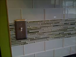 Kitchen Backsplash Subway Tiles by Kitchen Gray Kitchen Backsplash Mini Subway Tile Ceramic