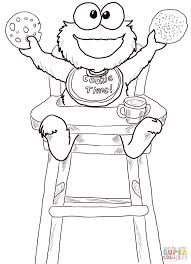 sesame street babies coloring pages