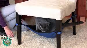 Homemade Cat Hammock by Cat Crib Cat Hammock Demonstration Youtube