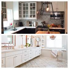 Spanish Tile Kitchen Backsplash Cement Tile Backsplash David Raymond Design
