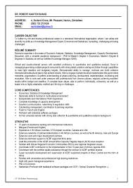 Economics Resume Cv Dr Robert Nantchouang 05 04 16
