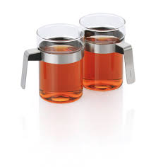 tea glasses with stainless steel handles u2013 blomus