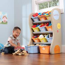 Kids Room Storage Bins by Step 2 Red Organizer Kids Box 824000 The Home Depot