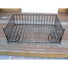 dog bed large wrought iron luxury pet bed handmade in uk