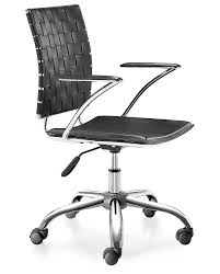 Zuo Modern Desk by Amazon Com Zuo Modern Criss Cross Office Chair Black Kitchen
