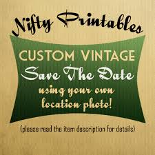 vintage save the date custom vintage save the date postcards vtw nifty printables