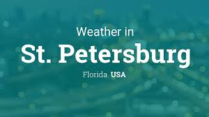 Florida Weather Map Today by Weather For St Petersburg Florida Usa