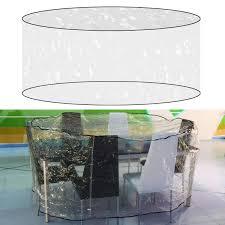 Waterproof Outdoor Patio Furniture Covers Clear Patio Furniture Covers Round Amp Clear Waterproof