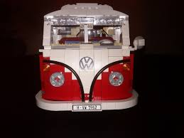 volkswagen hippie van front toxic shock syndrome far out dude lego vw t1 camper van