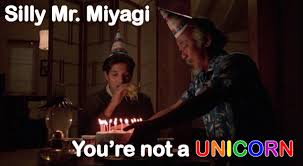 Mr Miyagi Meme - silly mr miyagi by ginagag on deviantart