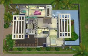100 modern houses floor plans small house plan beauteous sims 4