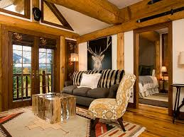simple and modern touch for rustic living room ideas lifestyle news