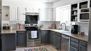 Painting Kitchen Cabinets Black Distressed amiable photograph munggah about duwur illustrious joss lovely