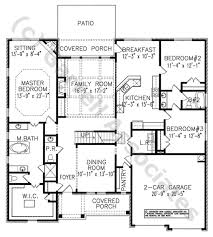 modern house floor plan